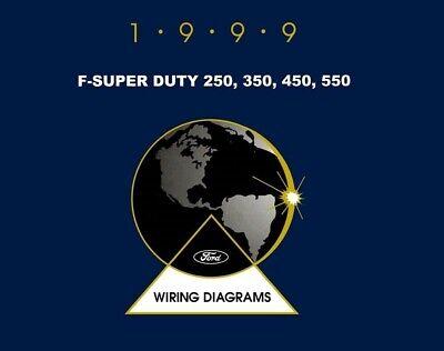 1999 Ford Truck F-Super Duty, F-250-550 Wiring Diagrams ...