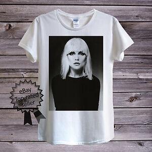01352ae3 Blondie Debbie Harry T-Shirt Men Unisex Women Fitted British Punk ...