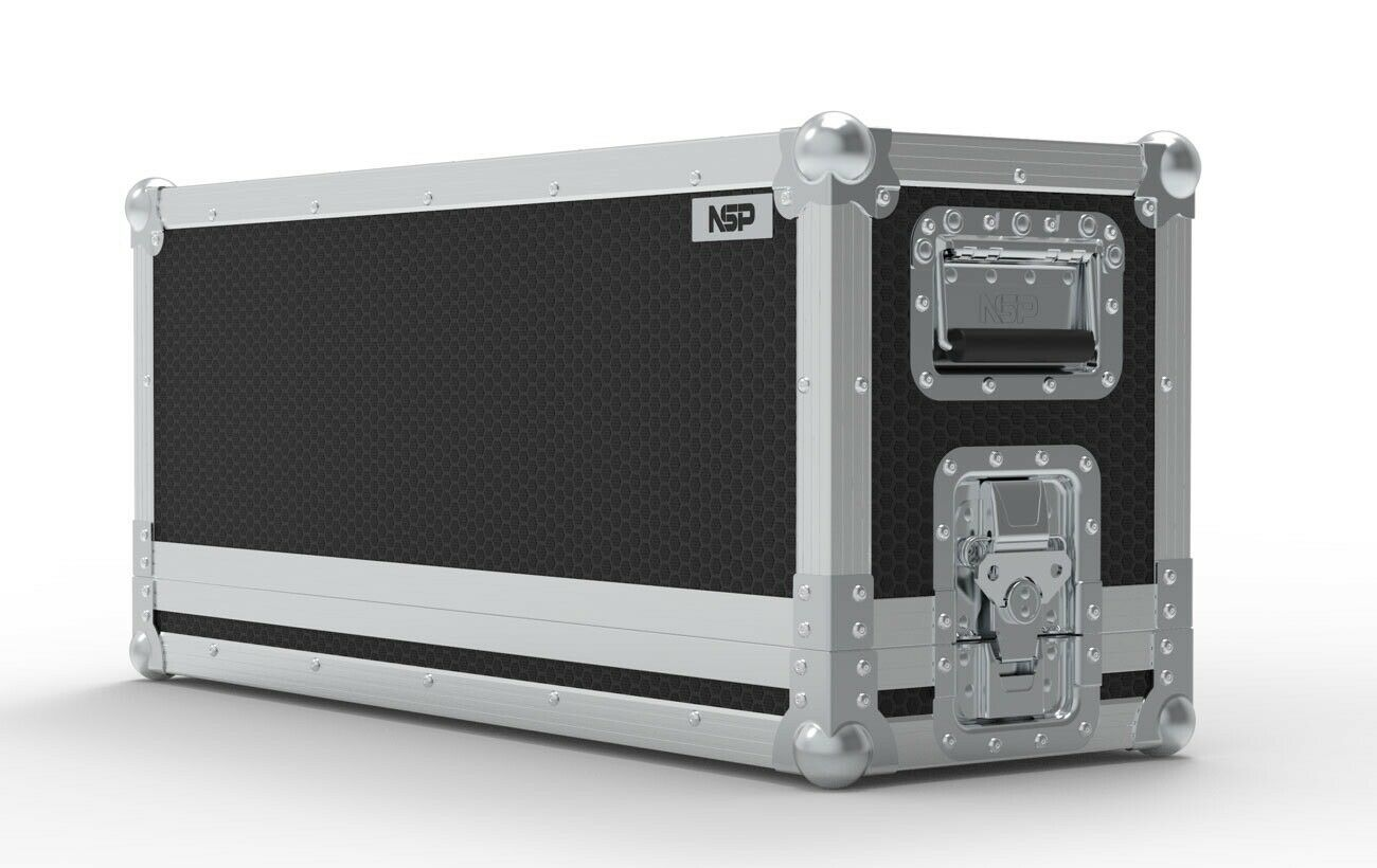 Zwei Rock Studio pro 35 Amp Kopf Touring Flight Case