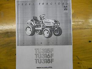iseki tu315 tu316 tu318 service manual ebay rh ebay com Iseki TS1610 Parts Iseki TS1610 Parts