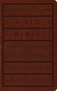 ESV-Large-Print-Personal-Size-Bible-TruTone-Brown-Engraved-Mantel-Design