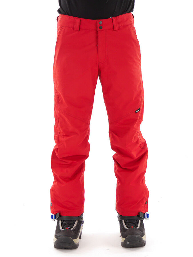 O'Neill Ski Trousers Snowboard Trousers Snow Trousers Hammer Red Water Resistant