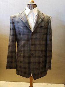 Jackett Farbe: Grau/kariert Toyner Tailormade 100% Schurwolle Einfach Zu Schmieren Gr Sakko 48