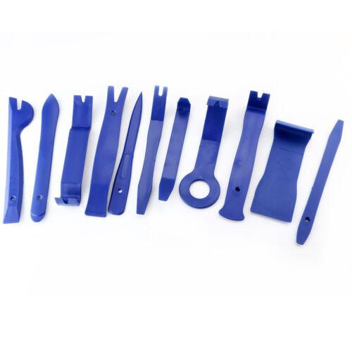 11Pcs//Set Car Door Plastic Trim Panel Dash Removal Installation Pry Kit Tool#b