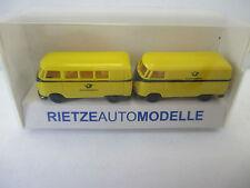 """Rietze 1/160 Autoset 2 VW Busse """"Deutsche Bundespost""""  WS5626"""