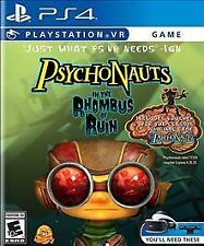 Psychonauts in the Rhombus of Ruin PS4 PS VR New/Sealed FREE SHiPPiNG!