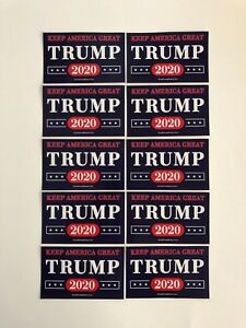 Trump-2020-Stickers-Keep-America-Great-Vinyl-Decals-10-Pack