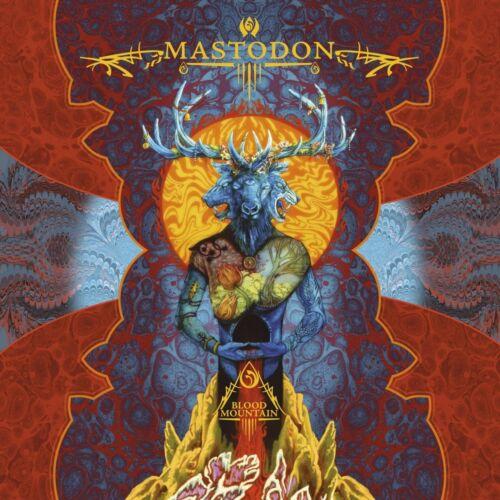 MASTODON Blood Mountain BANNER HUGE 4X4 Ft Fabric Poster Tapestry Flag art