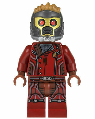 New Custom LEGO Minifigure Marvel Superhero Star-Lord Guardians Of The Galaxy