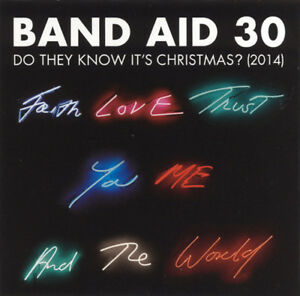 BAND-AID-30-Do-They-Know-It-039-s-Christmas-2014-4-track-CD-single-NEW-SEALED