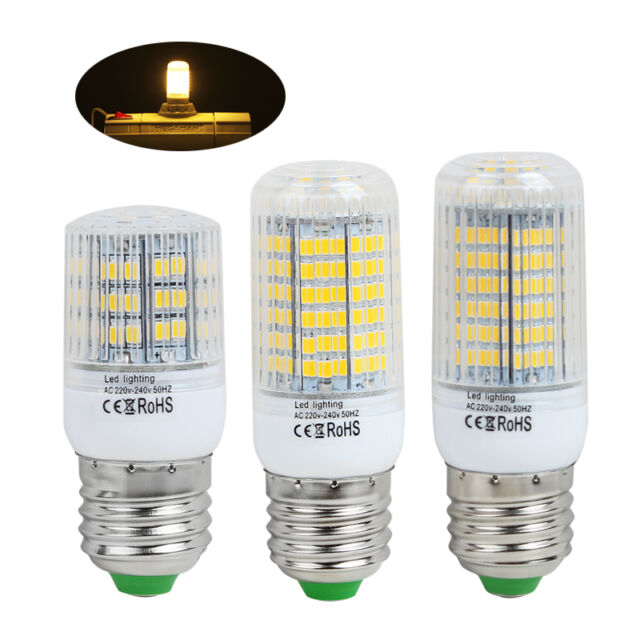 High Power LED SMD E27 E14 Birne Glühbirne Leuchtmittel Lampe Warmweiß 6W 8W 9W