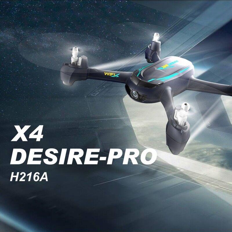 2018 Hubsan H216A X4 Drone WiFi DESIRE Pro FPV GPS RC Quadcopter fotocamera 1080P HD