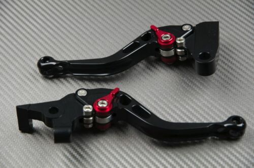 levier leviers levers court short CNC black noir BMW F650GS F650 GS 2008-2012
