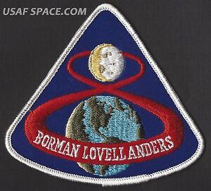 APOLLO-8-LION-BROTHERS-VINTAGE-ORIGINAL-NASA-CLOTH-BACK-SPACE-PATCH-MINT