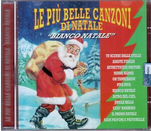 Le Piu Belle Canzoni Di Natale.Le Piu Belle Canzoni Di Natale Bianco Natale Piva Piva Cd Nuovo Sigillato Ebay