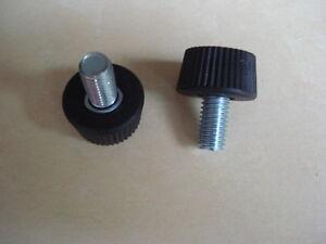 Llote-de-50-tornillos-ajuste-roscado-M8-longitud-14mm-botones-sujecion-mollete