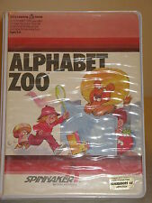 Alphabet Zoo Tested Game C64 & 128 cartridge by Spinnaker for Commodore 64 RARE