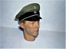 DID 1/6th Scale WW2 German Officer's Crusher Cap - Peiper