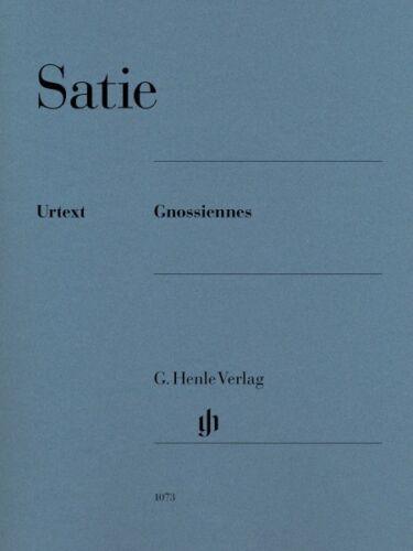 Erik Satie Erik Satie Gnossiennes Sheet Music Piano NEW 051481073
