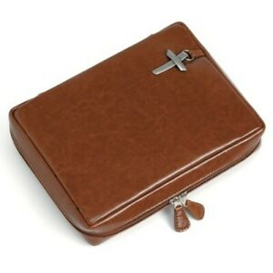 Genuine-Leather-Bible-Cover-Caramel-Large