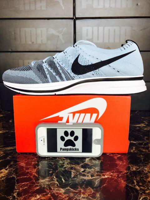 2cdd8487e6827 Nike Flyknit Trainer Men s Sz 13 Running Shoes Cirrus Blue Ah8396 400 NoLid