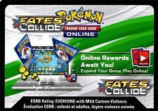 Pokemon TCG XY FATES COLLIDE :50X VIRTUAL CODE CARD