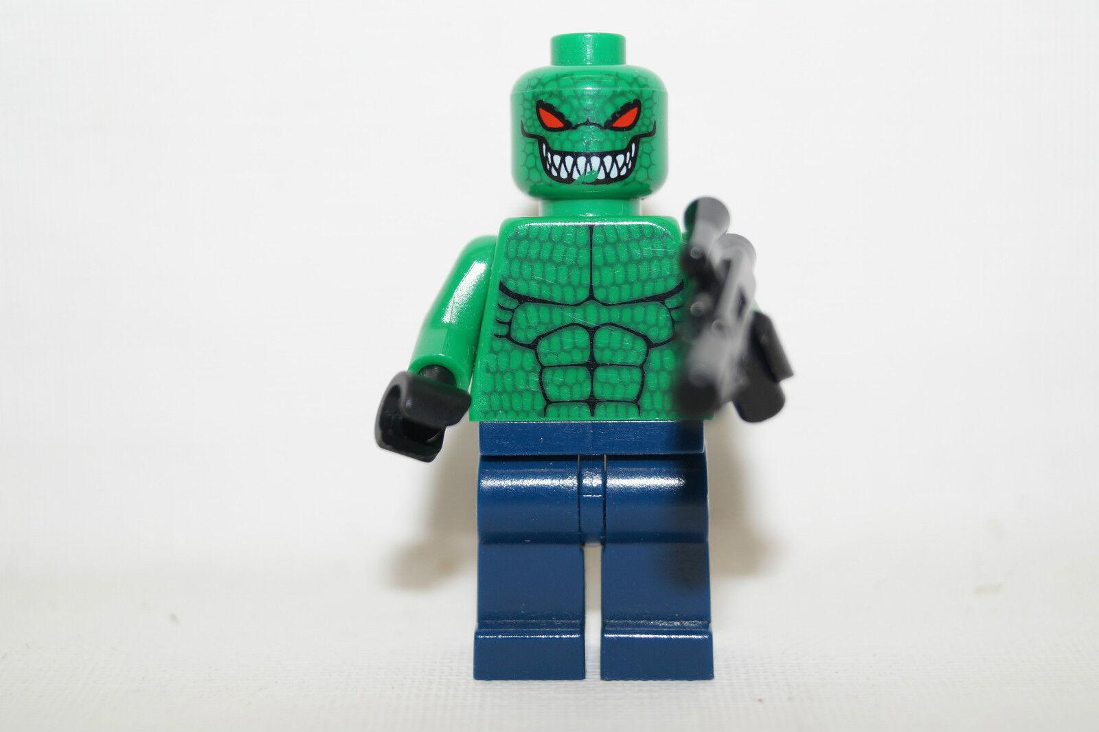 LEGO BATMAN, Killer Croc with gun from Set 7780