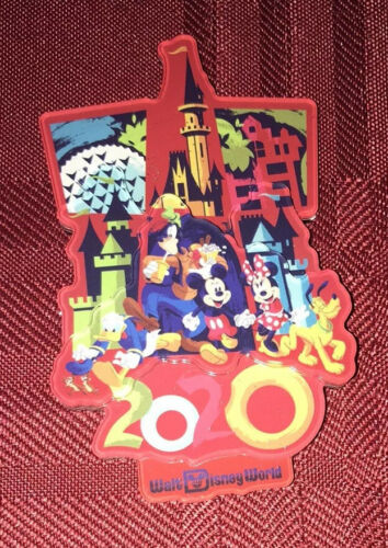 Disney Parks 2020 See The Magic Mickey Mouse And Friends Magnet Set