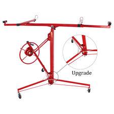 11ft Drywall Lift Plasterboard Sheetrock Lifter Hoist Carrier Safety Lock 150lbs