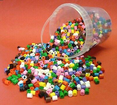 Basteln & Kreativität UnabhäNgig Bügelperlen Xl Eimer Mit 1400 Stück Maxi-perlen 86-05 Komplette Artikelauswahl Bügelbilder