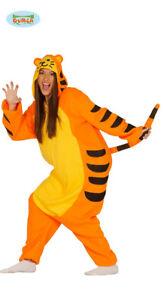 reputazione affidabile scegli originale nuova alta qualità Dettagli su GUIRCA Costume kigurumi tigre Tigro winnie the pooh carnevale  donna mod. 84346