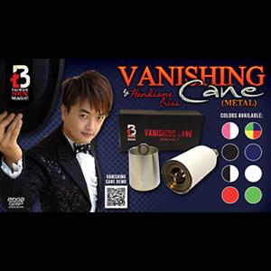 Vanishing Cane (metal / Red) de Handsome Criss et Taiwan Ben Magic