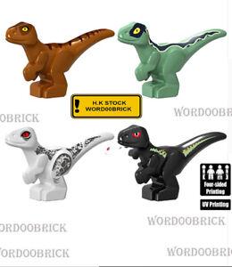 Mini Dinosaur Carnotaurus minifigure lego Custom PAD UV Printed BRICK minifigure