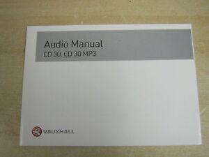 Vauxhall cd30 cd30 mp3 radio book owners manual handbook ebay image is loading vauxhall cd30 cd30 mp3 radio book owners manual sciox Images