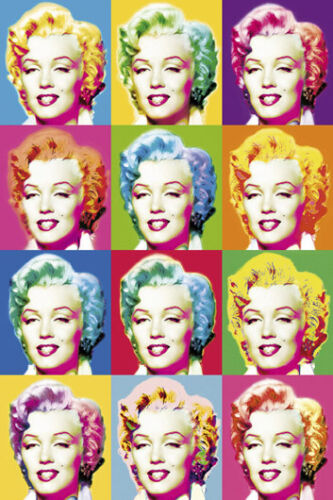 Monroe POSTER Visions of Marilyn