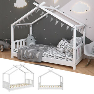 gebunden Dach zum Hausbett
