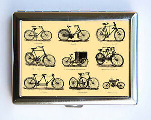 Victorian bikes cigarette case wallet business card holder steampunk image is loading victorian bikes cigarette case wallet business card holder colourmoves