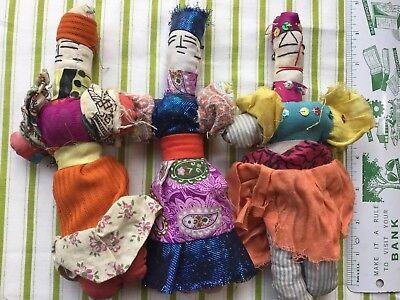 3 Bambole Di Stoffa-mostra Il Titolo Originale