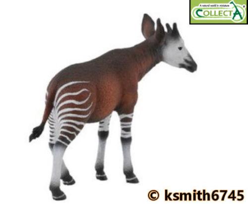 CollectA Okapi solide Jouet en plastique Wild Zoo rayures animale africaine * nouveau