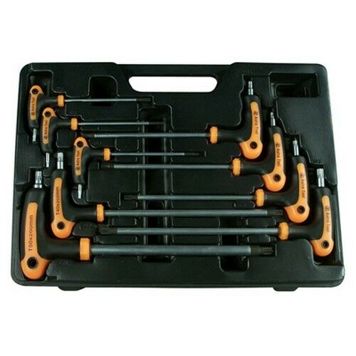 Astro Pneumatic 1023 Torx Wrench Set T-Handle T10 to T50 9pc