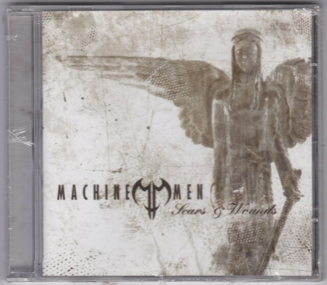 Machine Men  # Scars & wounds #  CD NUOVO SIGILLATO