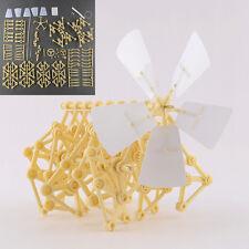 Puzzle Molino de viento Walker Mini Strandbeest DIY Asamblea robot de juguete
