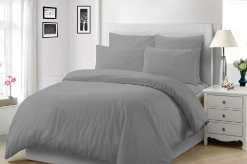 400TC EXTRA DEEP 30CM FITTED SHEET 100/% EGYPTIAN COTTON SINGLE DOUBLE KING SIZE