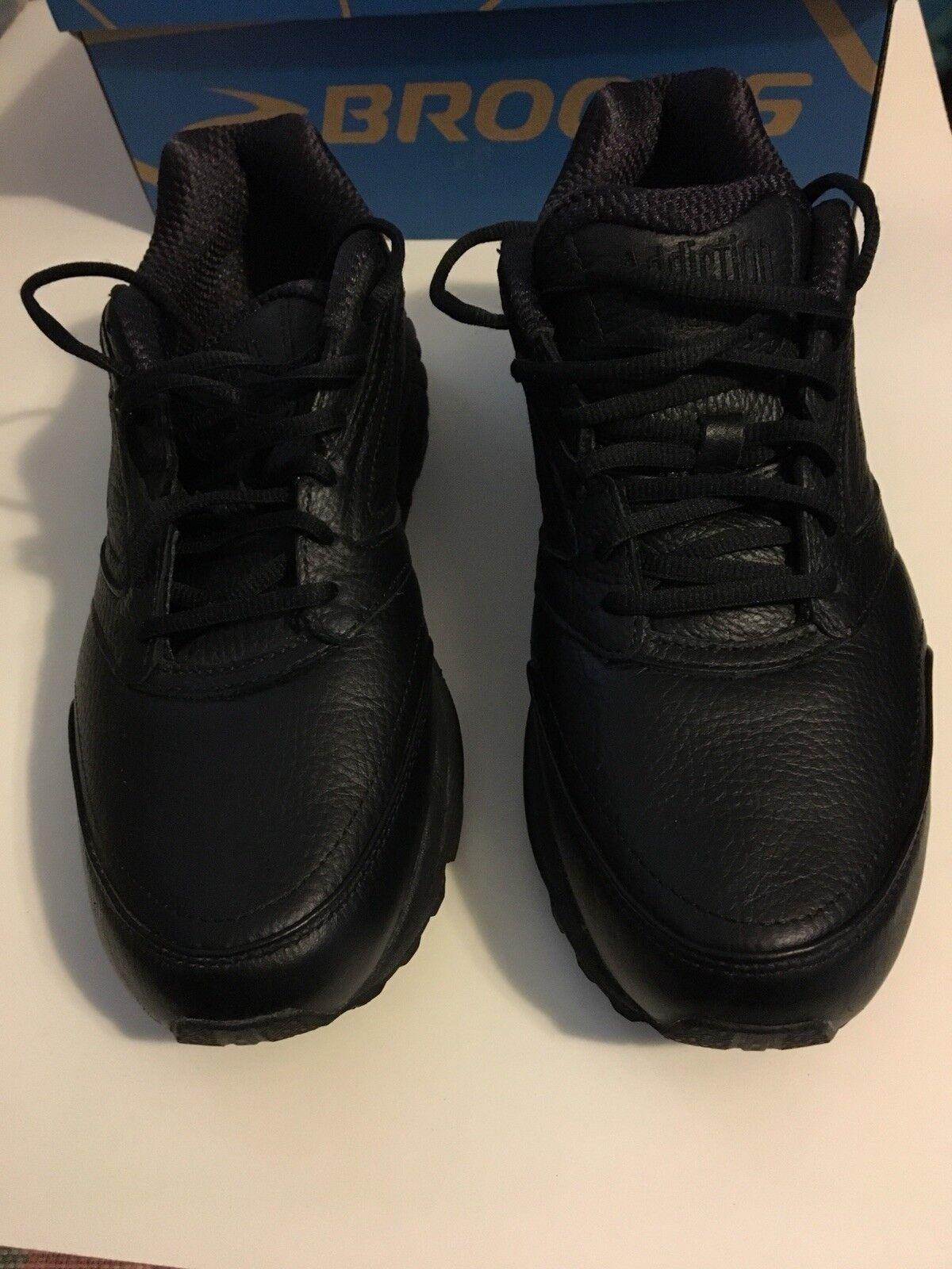 9517b1f67e0 BROOKS Men s Addiction Walker Black Walking shoes Size Size Size 10.5 D  Medium 7dd5cc