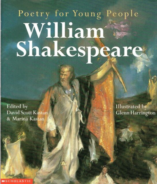 2 X Poetry for Young People Books: WILLIAM SHAKESPEARE & THE SEASONS