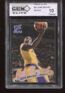Kobe-Bryant-RC-1996-97-Fleer-Ultra-52-Lakers-Rookie-HOF-GEM-Elite-10-Pristine