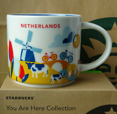 Starbucks City Mug Cup You are here Series YAH Sweden 14oz NEW