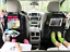 """2 Pack Kick Mats Organizer for Car Seat Back Protector 10.1/"""" Clear Tablet Holder"""