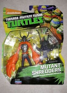 T.M.N.T TEENAGE MUTANT NINJA TURTLES Nickelodeon Shrimp /& Crab Shredder Figures