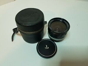 Soligor-1-2-8-f-28mm-62mm-dia-Auto-Lens-w-Case-Made-in-Japan-MINT